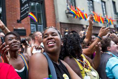 Pride March Stonewall Inn