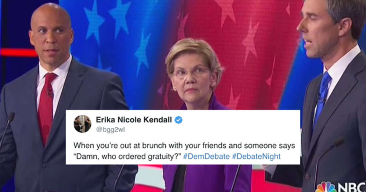 Cory Booker Meme The First Meme Of Democratic Debate Thrillist