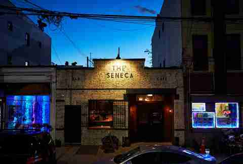the seneca exterior