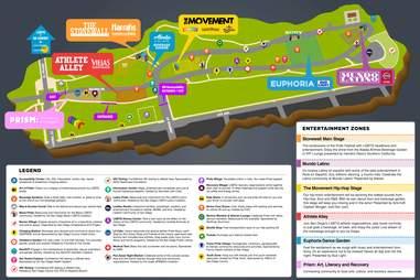 san diego pride festival map