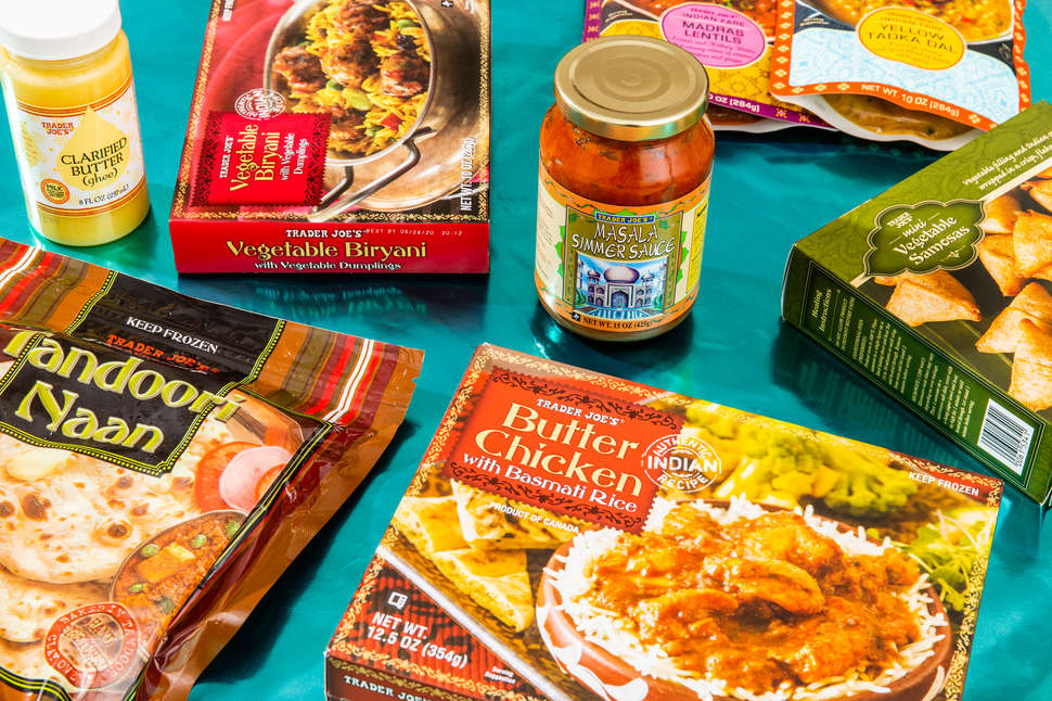 Trader Joe's indian food