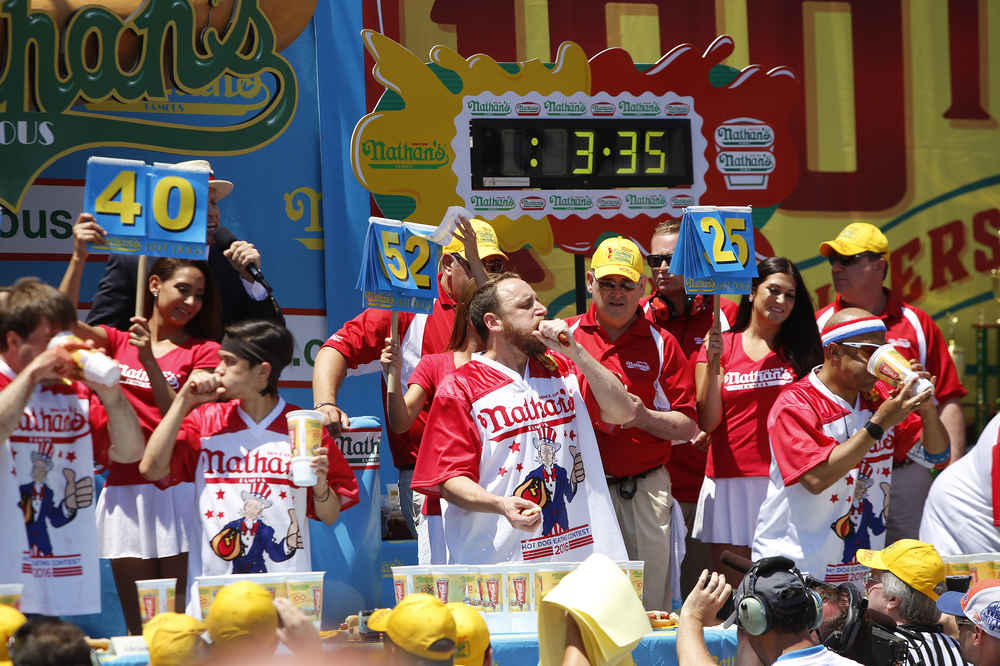 How to Watch the Nathan's Hot Dog Eating Contest on the Fourth of July