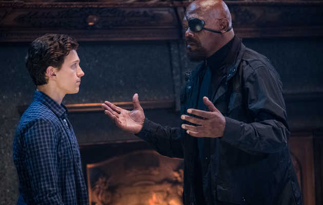 What the Mysterious Nick Fury Post-Credits Scene in 'Spider-Man: Far From Home' Means