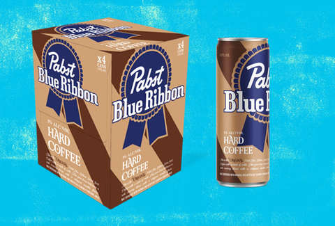 PBR Just Released Hard Coffee: Here's Where to Buy PBR Hard