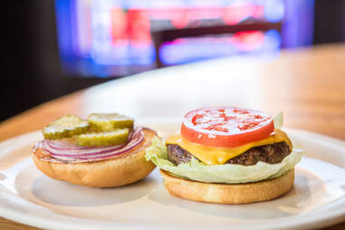 tomato on burger tomatoes pickles tomatos cheese burgers toppings ripe