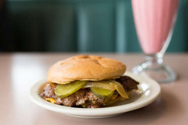 pickles on a burger pickle brine sour tangy burgers topping