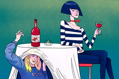 booze isn't super lusted after the way it is with American teenagers.