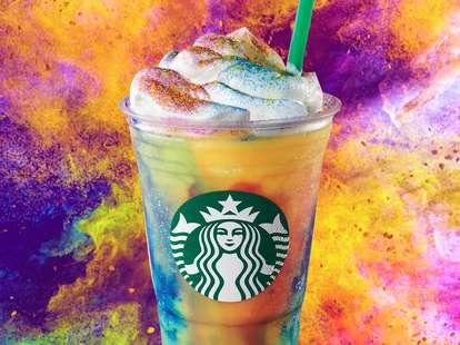 starbucks tie-dye frappuccino