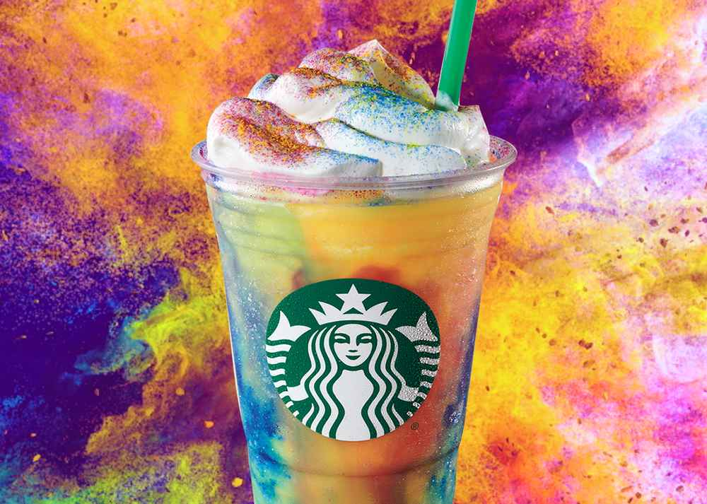 Starbucks' Wild New Tie-Dye Frappuccino Is Basically the Unicorn Frapp 2.0