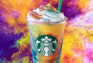 Starbucks' New Tie-Dye Frappuccino Is Not as Groovy as It Appears