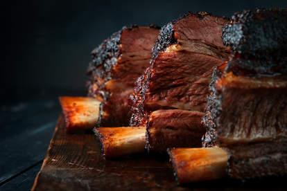 baked beef brisket off the bone bbq