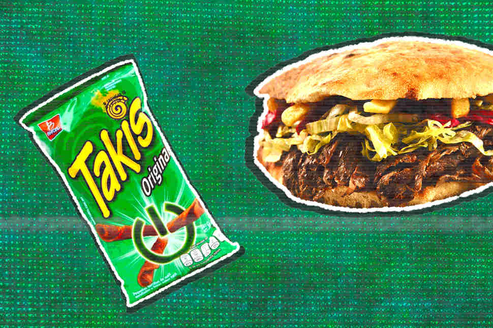 takis original and tortas