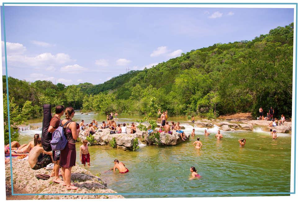 Best Austin Swimming Holes to Take a Dip This Summer - Thrillist
