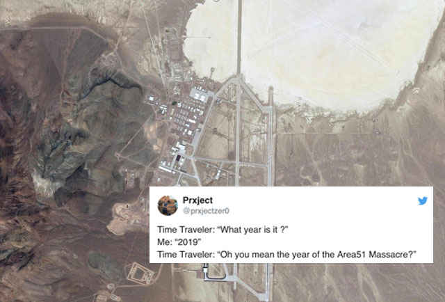 Almost a Million People Signed Up to 'Storm' Area 51 & the Jokes Are Hilariously Absurd