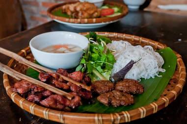 bun cha vietnamese noodles
