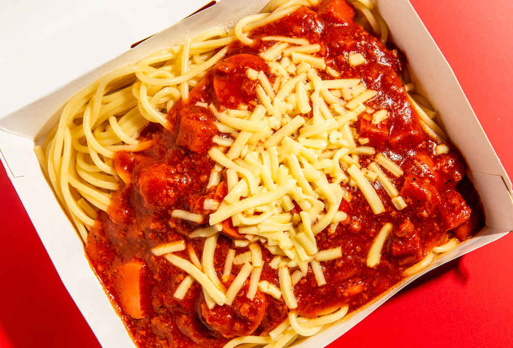 Hot Dog-Packed Sweet Spaghetti Took Over the Philippines. Is the US Next?