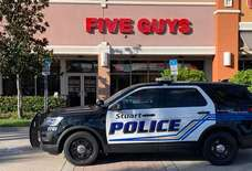 Five Guys Arrested for Fighting Inside a Five Guys