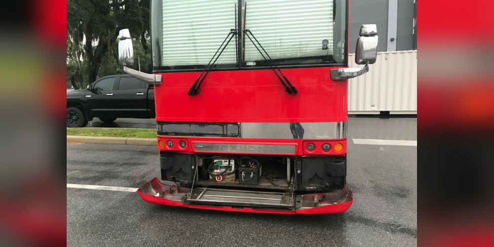 Band Hears Funny Sound Coming From Tour Bus And Can't Believe Who They Find