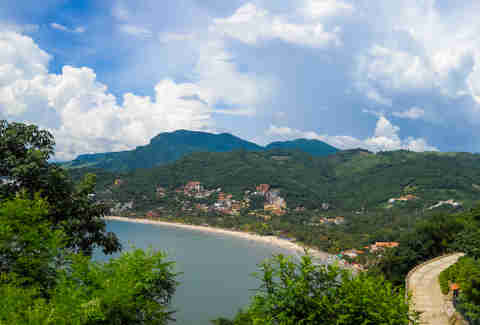 Ixtapa-Zihuatanejo. Nature of Mexico. North America