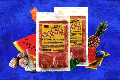 li hing mui salted plum powder