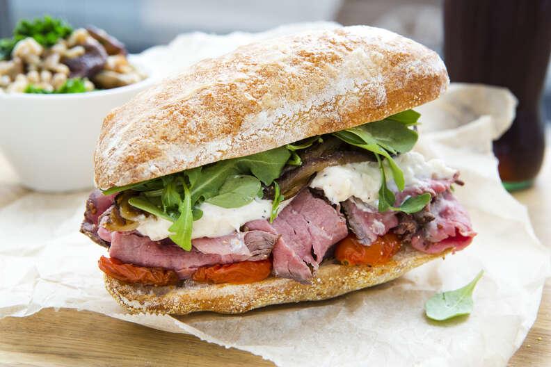Bluebird Kitchen sandwich