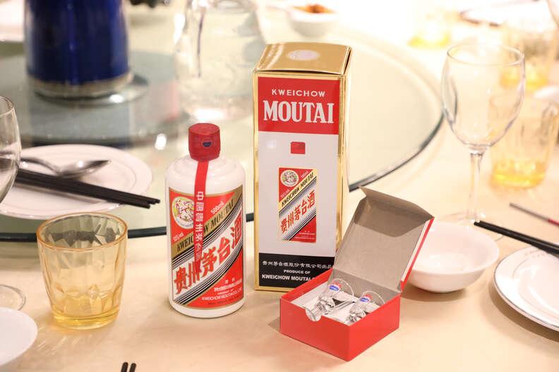 maotai chinese liquor baijiu