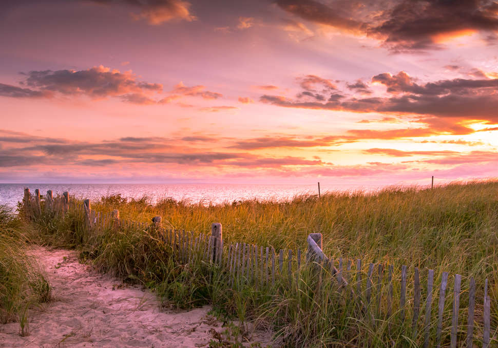 Herring Cove beach in Provincetown, Massachusetts