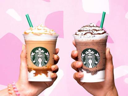 starbucks happy hour frappuccino