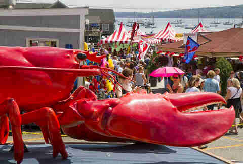 Rockland's Annual Lobster Festival