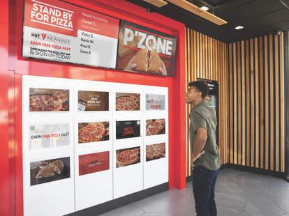 pizza hut pick up locker concept hollywood