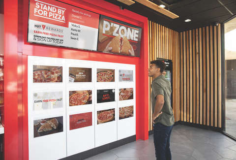 pizza hut pick up locker concept hollywood