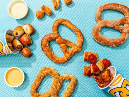 auntie anne's pretzels bogo
