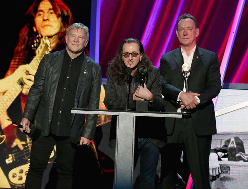 rush rock and roll hall of fame