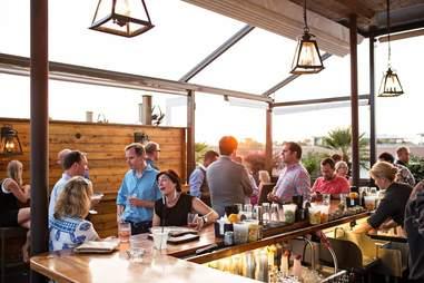 Stars Restaurant - Rooftop Bar & Grill Room