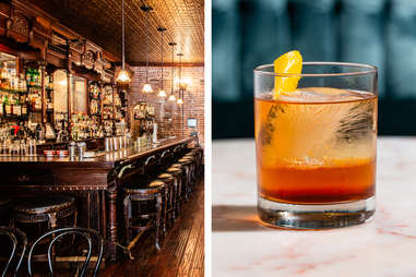 Clover Club cocktails