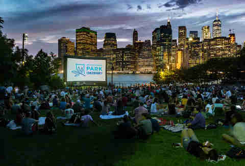 Brooklyn Bridge Park Movies with a view