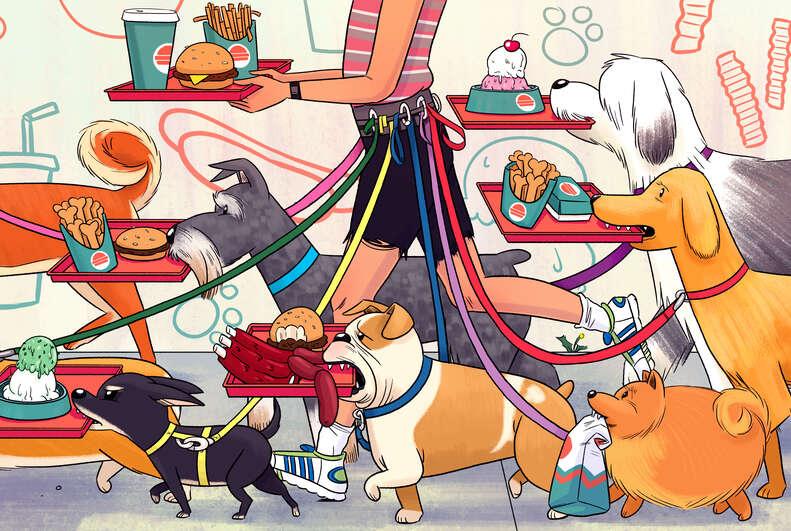 dogs menu thrillist restaurant dog friendly