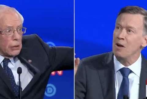 Bernie Sanders Meme The Democratic Debate S Best Meme Of Night 1