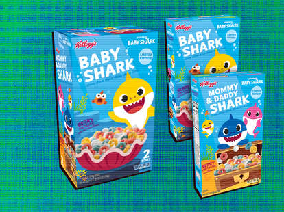 baby shark cereal
