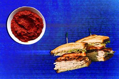 harissa blt sandwich