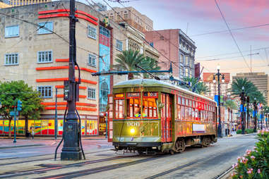 Streetcar new orleans