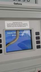 gas station snake