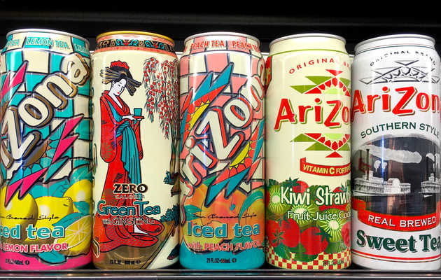 Weed-Infused Arizona Iced Tea Drinks & Products Are on the Way