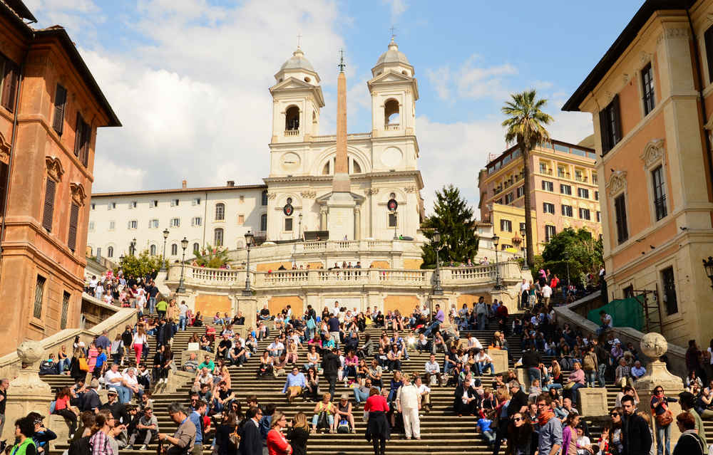 Don't Get Tired: Rome Will Fine Tourists $450 for Sitting on the Famous Spanish Steps