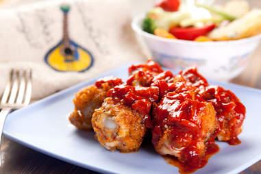 portuguese piri-piri spicy chicken legs