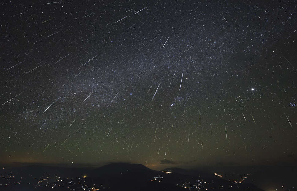 where to see perseid meteor shower