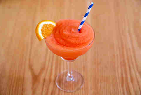 summer day's frozen Aperol Spritz