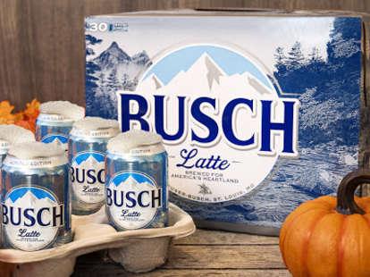 busch latte commercial