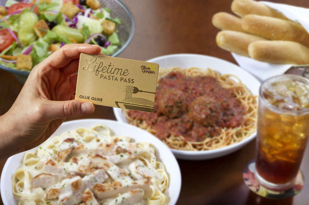 Olive Garden's Pasta Pass Is Back & You Can Get Unlimited Pasta for Life