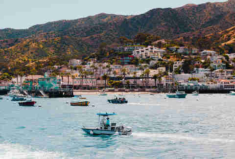 Avalon Harbor, Catalina Island